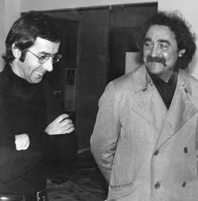 Giancarlo Bargoni - Biografia - anni 60